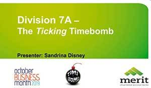 Division 7A - the ticking timebomb
