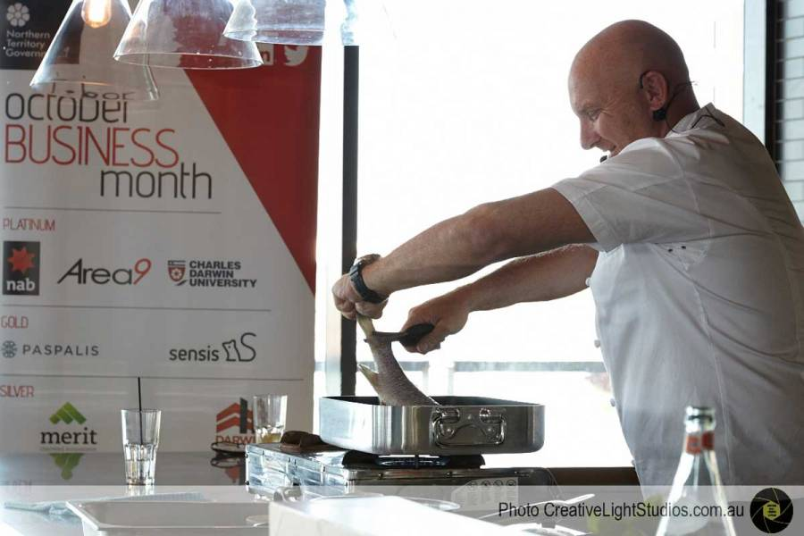 Industry Masterclass at WharfOne Food and Wine with Matt Moran