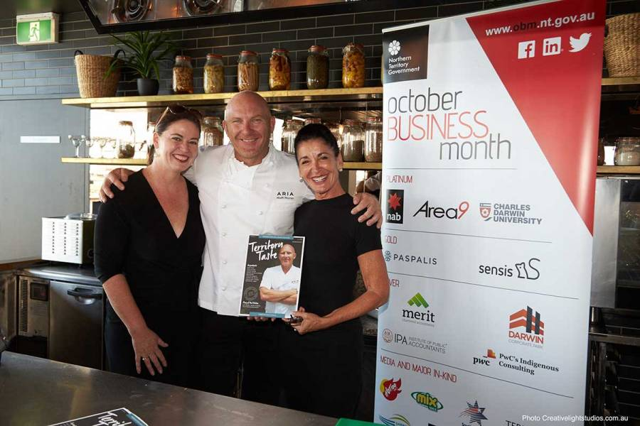Media Sponsor TQ Magazine and Southern Cross Television with Matt Moran at the Industry Masterclass