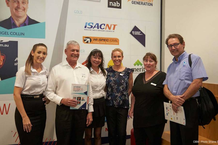 Gold sponsor ISACNT at the calendar launch