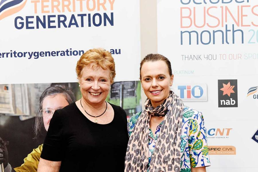 Territory business success story Julie Ross at the Mia Freedman event in Alice Springs
