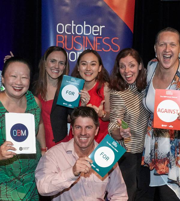 Darwin speakers at last year's October Business Month