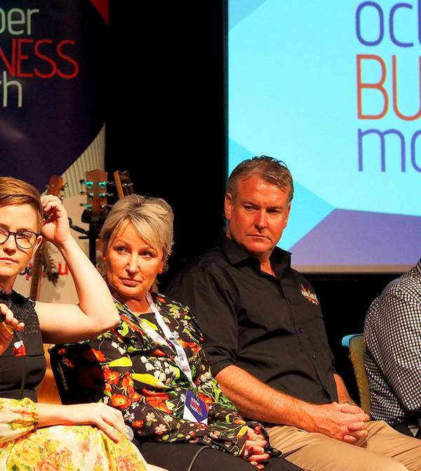 The Great Debate at last year's October Business Month