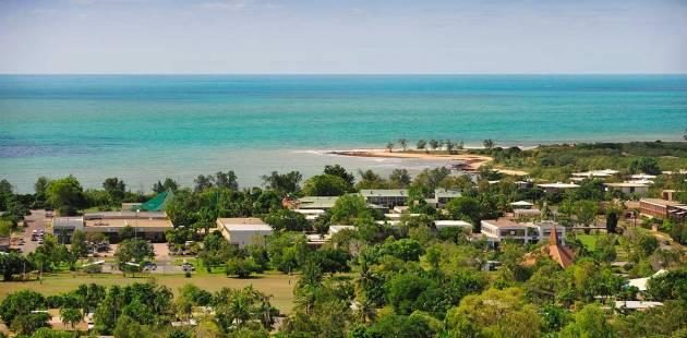 View over Nhulunbuy