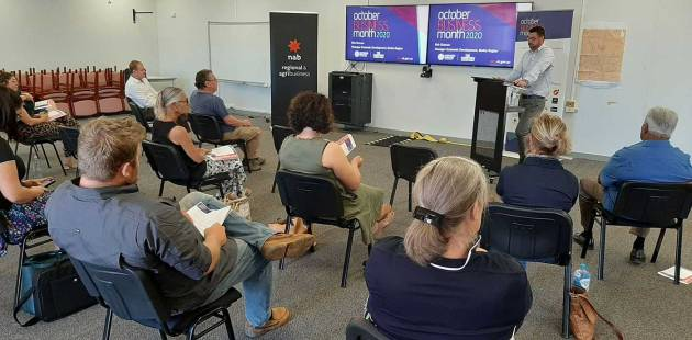 Presentation at October Business Month in Tennant Creek